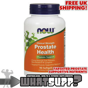 NOW-Clinical-Strength-PROSTATE-HEALTH-x90softgels-Palmetto-BetaSitosterol-Lyco
