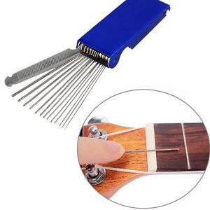 Blue-Metal-13-Sizes-Long-Shaft-Files-Guitar-Mandolin-Saddle-With-Nut-Polish-Tool