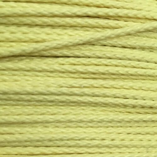 1.7mm Heavy Duty 100/% Yellow Kevlar Speargun Band Constrictor Cord 9m 30ft