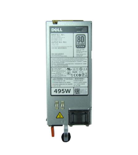 Platinum Power Supply N24MJ Dell T320 T420 T620 R520 R620 R720 495W 100-240V 80