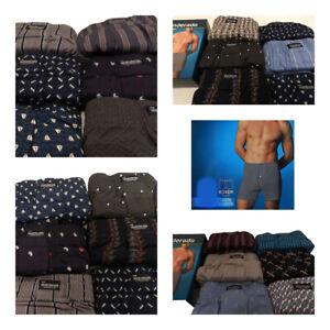 Pack de 2 Boxer trunks sueltos abiertos punto Abanderado  algodón 100/%