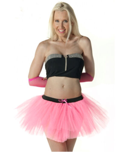 LADIES WOMEN/'S NEON COLORS 3 LAYERS TUTU SKIRTS HEN NIGHT FANCY DRESS PARTY WEAR