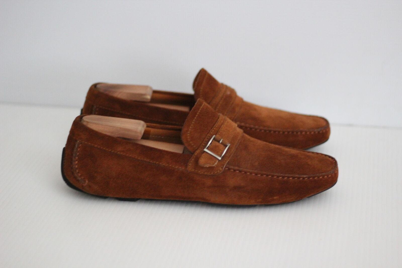 vendita con alto sconto Magnanni Flamenco Driving Loafer scarpe Slip On On On - Cognac Marrone - 10 M - 17159 (M2)  ampia selezione