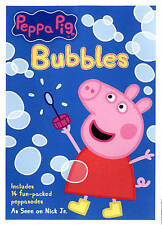 Nick Jr. Peppa Pig: Bubbles DVD (2014)  ~Features 14 Fun-Packed Peppasodes~