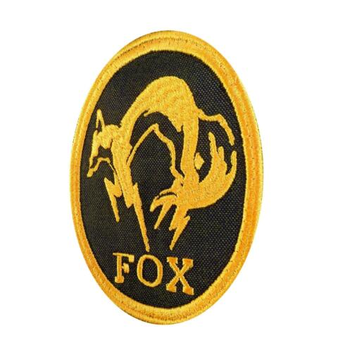 metal gear solid fox hound xbox cosplay PS brodé écusson sew iron on patch