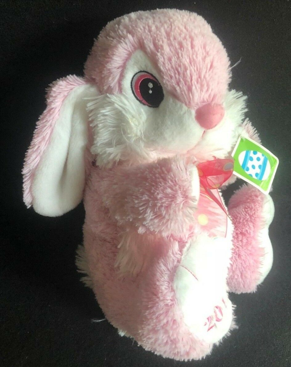 DanDee Bunny Rabbit Plush Rosa Easter Stuffed Sewn Eyes Large 13