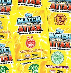 MATCH-ATTAX-Scottish-Premier-League-2012-13-Choose-Star-Player-Topps-Card-SPL