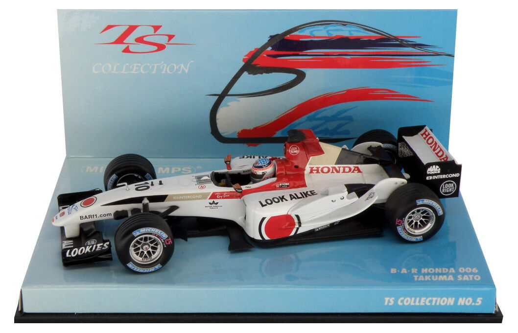 Minichamps BAR Honda 006 2004 Race Version-Takuma SATO COLLECTION échelle 1 43