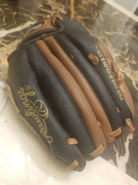 Rawlings Leather Baseball Glove PL950BT Basket Web Youth Sz 9.5 RHT for sale online