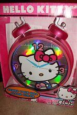 Hello Kitty Jumbo Twin Bell Alarm Clock New In Box