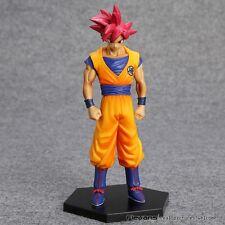 Anime Dragon Ball Super Saiyan God Son Goku action figure toy 16cm