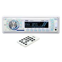 Pyle Plmr19w Marine Am/fm-wb Usb/sd Stereo Ipod/mp3 Player Receiver & Remote