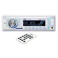 Pyle Plmr19w Marine Am/fm-wb Usb/sd Stereo Ipod/mp3 Player Receiver & Remote