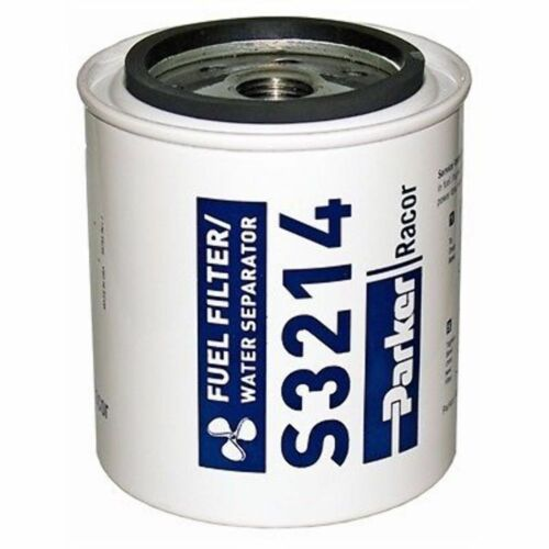 Racor S3214 Gas Fuel Filter Water Separator 10 Micron for OMC Heads B32014 MD