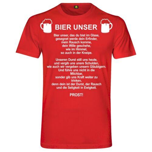 Bier Unser T-ShirtGottVater UnserBeetenBeerAlkoholWeizen