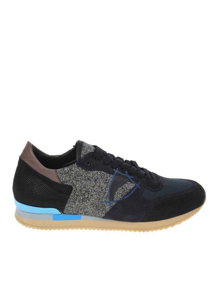 PHILIPPE MODEL Turnschuhe blau Sand Herrenschuhe Schuhe HERRENSHUHE100%Aute   | Maßstab ist der Grundstein, Qualität ist Säulenbalken, Preis ist Leiter