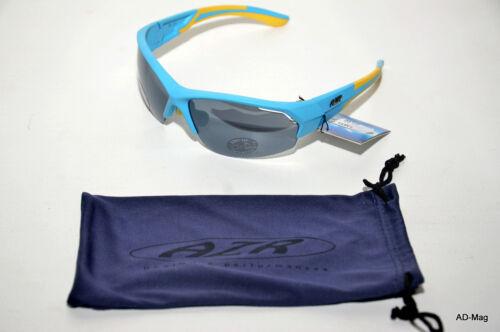 Bleu AZR 2764 X-Country RX Gris Polycarbonate NEUF Paire de Lunettes Vélo