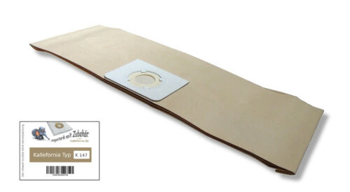 6 Sacchetto per aspirapolvere adatto per Bosch pas 12-27//F-Made in Germany