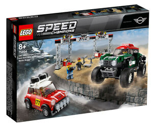 Lego Speed Champions 1967 Mini Cooper S Rally & 2018 Works Buggy 75894