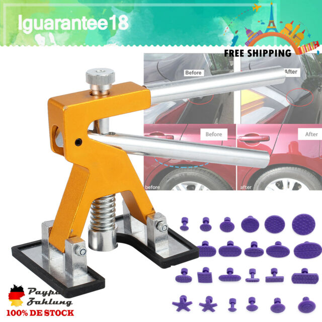 Ausbeulen Reparatur Karosserie Ausbeul Werkzeug Set Dellen Beulen Entferner DE