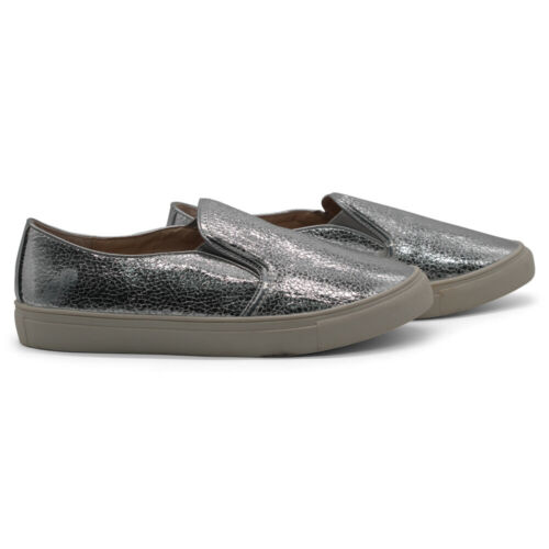 Details about  /New Women/'s Ladies Slip On Flats Pumps Plimsolls Sneakers Skater Trainers Shoes