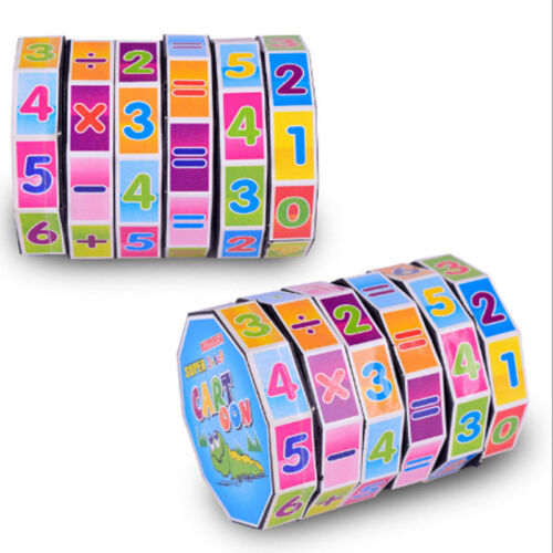 Magical Digital Cube Puzzle Kids Educational Arithmetic Toys Early Math Learing