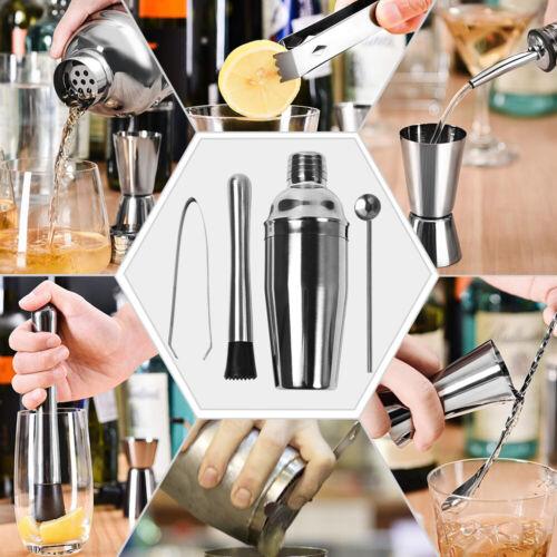 16-Piece Mixology Bartender Kit Cocktail//Martini Shaker Set Bar Tool Set,Gifts