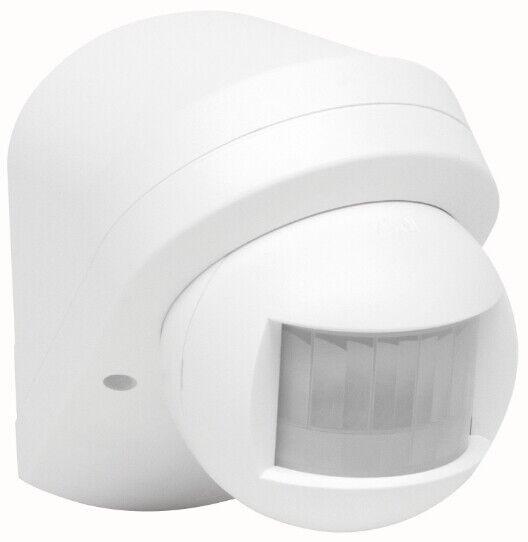 Sensoren & Bewegungsmelder Kopp Bewegungsmelder INFRAcontrol 3D 180° AP Aufputz IP44 für LED geeignet weiß