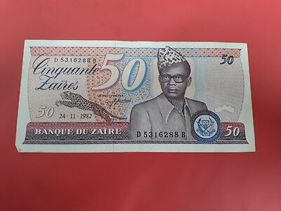 Zaire Scheine 50 Zaires 1982 Ref39821 Cheap Sales Coins & Paper Money