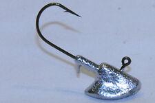 5 pk 1 oz Erie Jig Heads Bronze Aberdeen Hooks Walleye Bass
