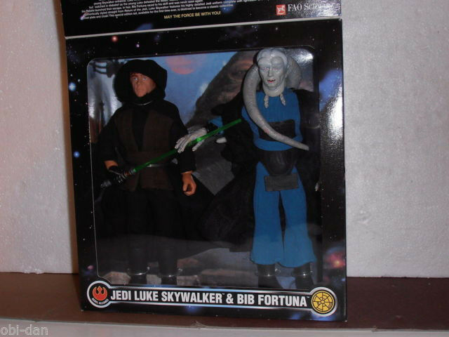 Star - wars - kenner jedi - luke skywalker & lätzchen fortuna 12  action - figur