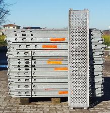 Layher Blitz Stahlbelag 1,57x0,32m gebraucht Gerüst, Gerüste, Baugerüst, Belag