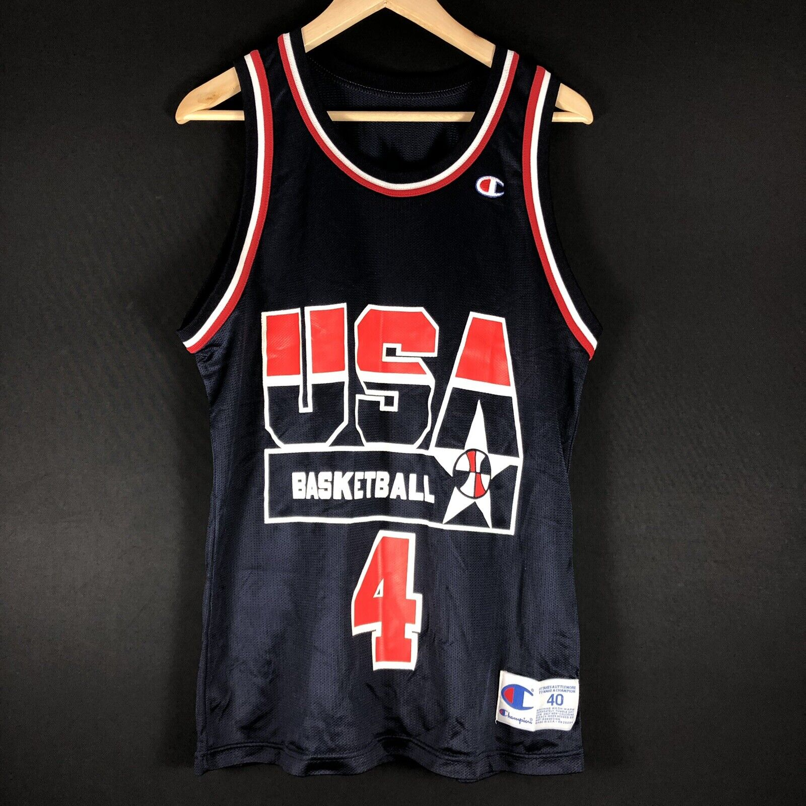 Nieuwe Dream Team 1994 Joe Dumars NBA Trikot Jersey Basketbal NBA Jordan KOBE SHAQ