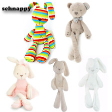 Cute Bunny Rabbit Stuffed Animal Plush Toy Baby Kids Soft Appease Bed Pillow Toy