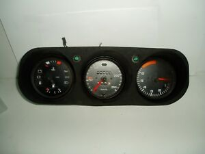 PORSCHE-924-944-DASH-CLUSTER-GAUGES-X-3-SPEEDO-TACHO-FUEL-AND-TEMP-USED-ITEM