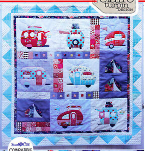 Excellent Camperquot Quilt Pattern By MH Designs For Quilt Minnesota  Baby Quilts