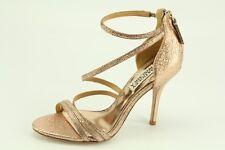 NEW Badgley Mischka Landmark 2 Rosmet Leather Pumps size 6 Evening Dress Sandals