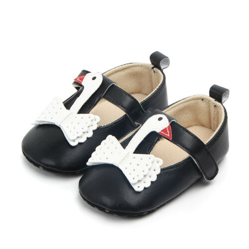 Infant Baby Shoes Newborn Girls Prewalker Walking Toddler Kids Soft Sole Shoes