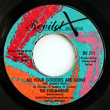 HEAR Parliaments 45 Don't Be Sore/All Your Goodies Revilot 211 northern soul R&B