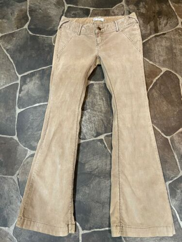 Free People Flare Bell Bottoms Size 26 Corduroy Ta