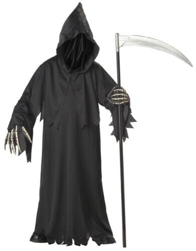 Childs Costume Grim Reaper Deluxe