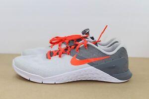 Womens Nike Metcon 3 Running training Shoe Platinum/Crimson Size 9.5 849807-006