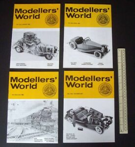 1979-80-Vintage-MikanSue-Modellers-039-World-Collectors-Magazine-Complete-Vol-9