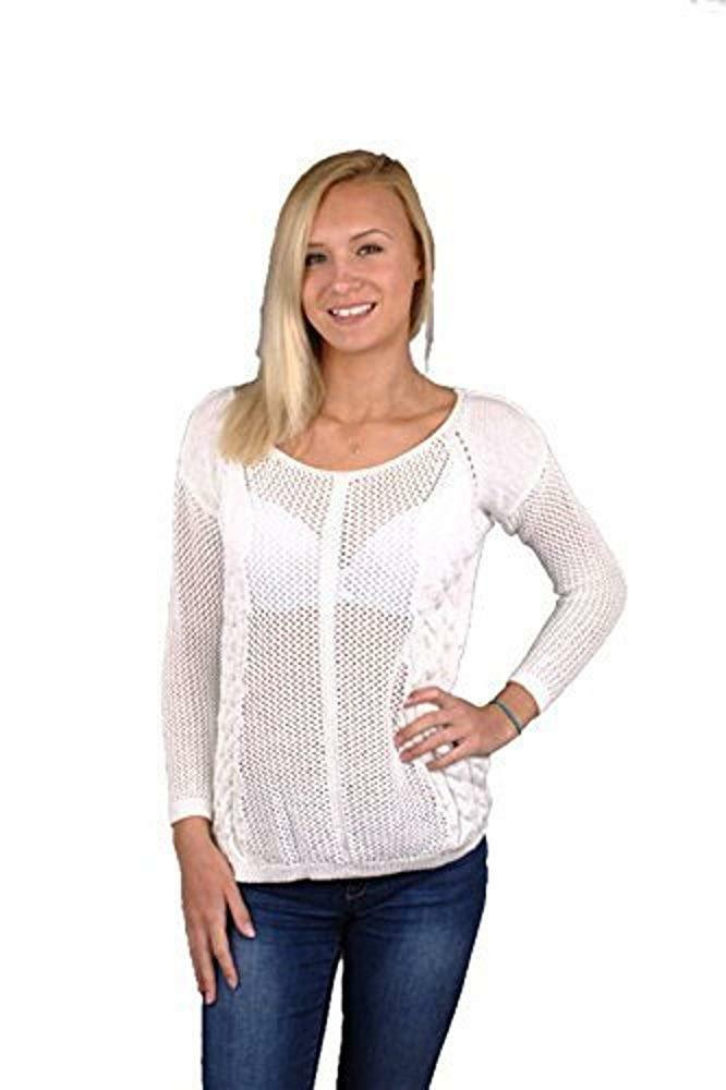 Superdry Womens Lurex Swing Sweater White - RRP .99