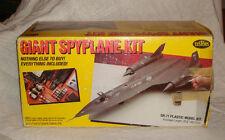 1989 Testors SR-71 Plastic Model Kit Giant Spyplane Blackbird 1:48 Scale