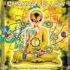 Chakra Yellow A Psychedelic Trance Compilation Vol 4 - CD - GOA TRANCE TBFWM