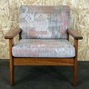60er-70er-Jahre-Teak-Sessel-Easy-Chair-Loungechair-Denmark-Danish-Modern-Design