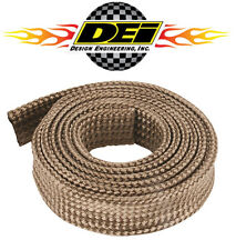 "DEI 010483 Titanium Protect-A-Sleeve Plug Wire & Hose Heat Insulation 1"" x 4'"