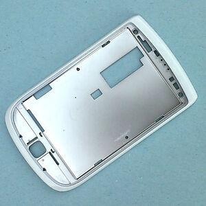 100-authentiques-du-BlackBerry-Torch-9800-cadre-avant-ecran-cote-blanc-surround-top