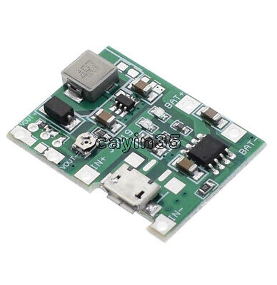 Boost Step Up Module 1X 1A USB 3.7V Li-ion Lithium 18650 Battery Charger Board